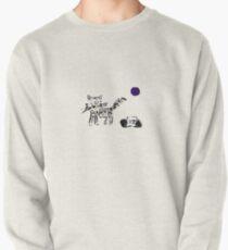 Radio Cat Pullover Sweatshirt