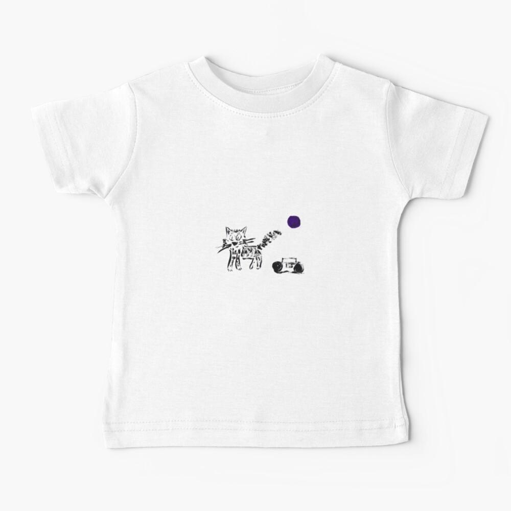 Radio Cat Baby T-Shirt