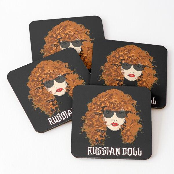 Russian Doll Nadia TV Series Coasters (Set of 4)