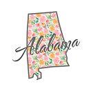 Alabama State | Blumendesign von PraiseQuotes
