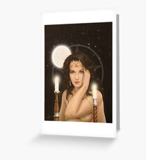 Moon Priestess Greeting Card
