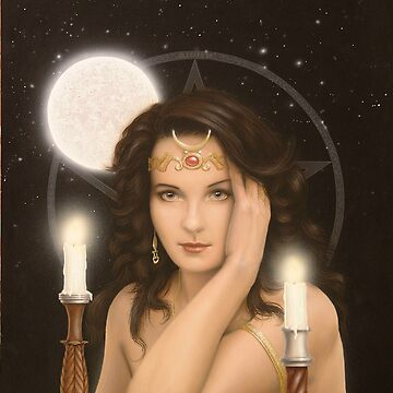 Moon Priestess by johnartist