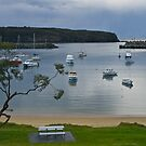 Ulladulla Harbour, South Coast, NSW. by johnrf