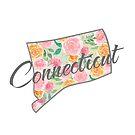 Connecticut State | Blumenrosen-Design von PraiseQuotes