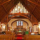 The Interior, St. John the Evangelist Anglican Church. 1897. by Mike Oxley