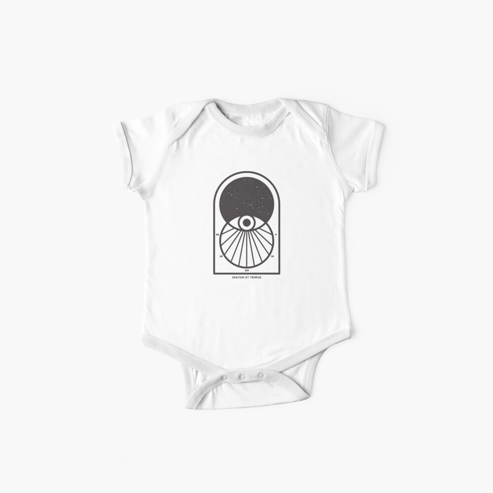 Space and Time Baby One-Piece