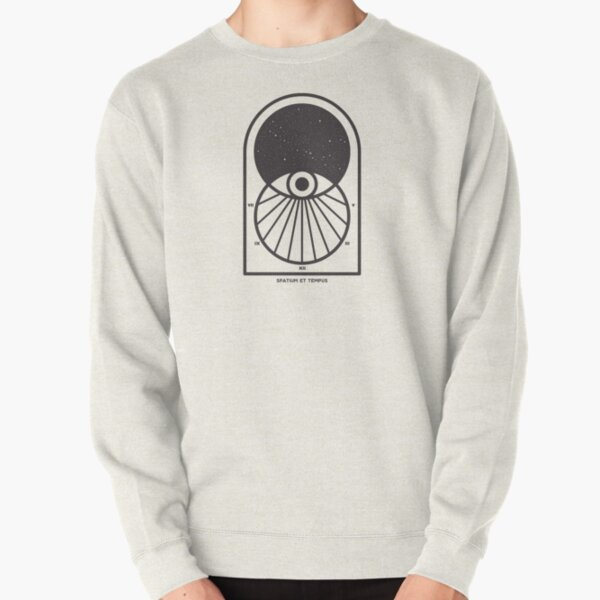 Space and Time Pullover Sweatshirt