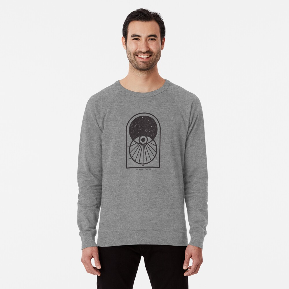 Space and Time Lightweight Sweatshirt