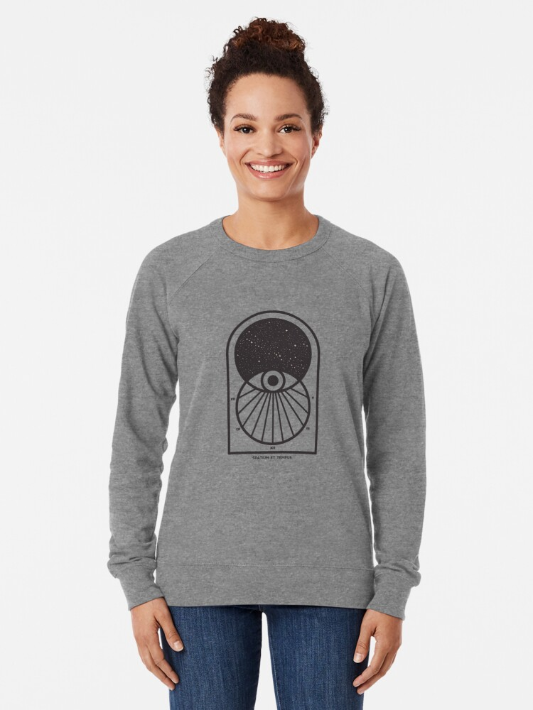 Alternate view of Space and Time Lightweight Sweatshirt