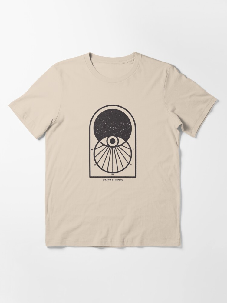 Alternate view of Space and Time Essential T-Shirt
