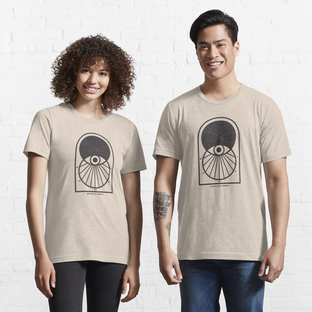 Space and Time Essential T-Shirt