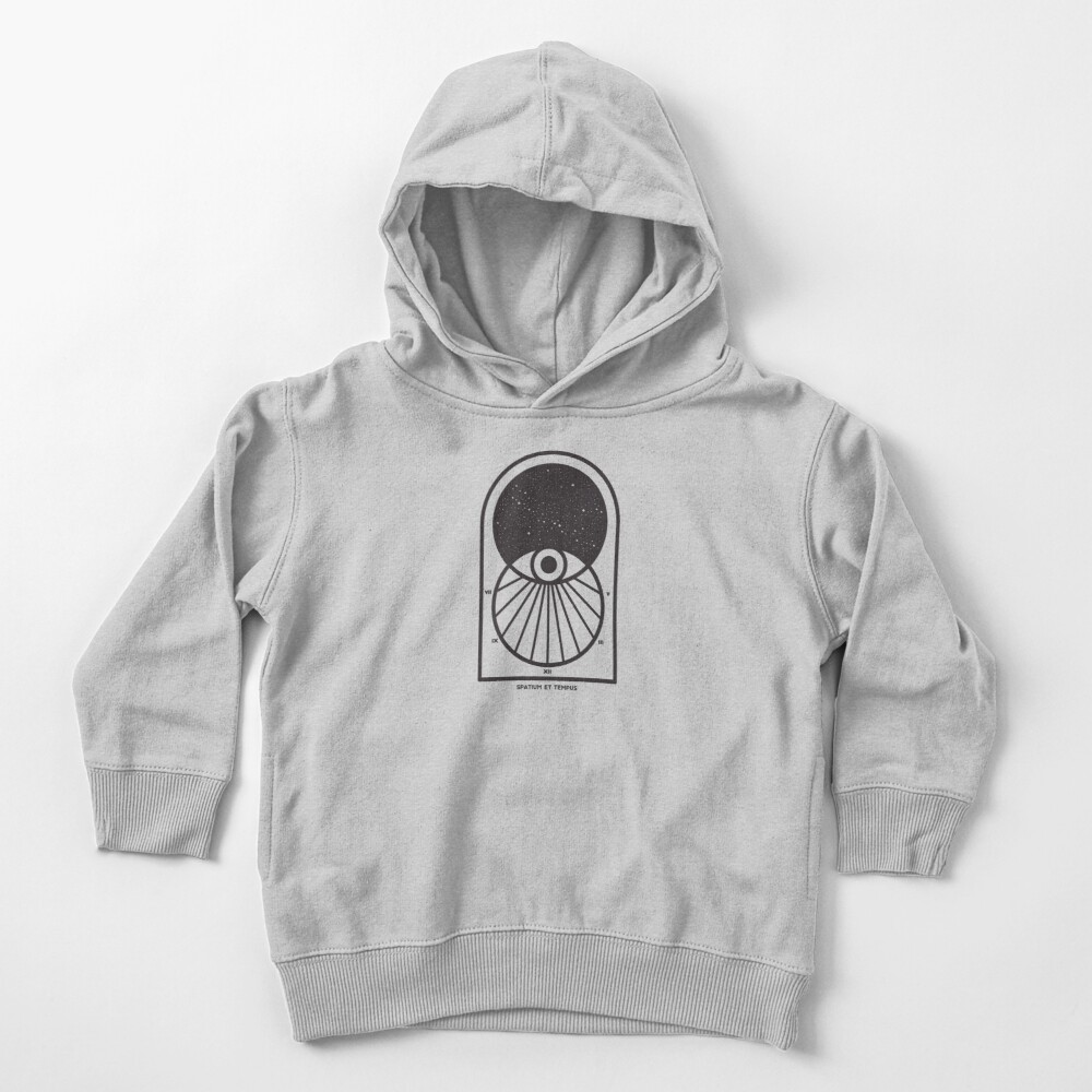 Space and Time Toddler Pullover Hoodie