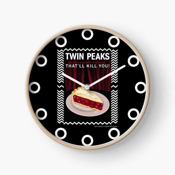 Twin Peaks Clock