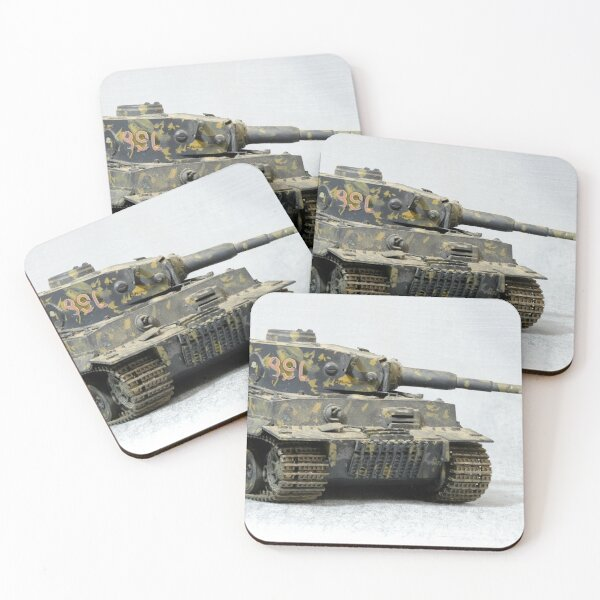 Tiger Tank Mk1 Coasters (Set of 4)