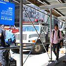 New Yorker auf dem Times Square von BritishYank