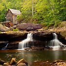 Glade Creek Grist Mill (Cooper's Mill) by Gregory Ballos