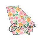 Georgia State | Buntes Blumenrosen-Design von PraiseQuotes