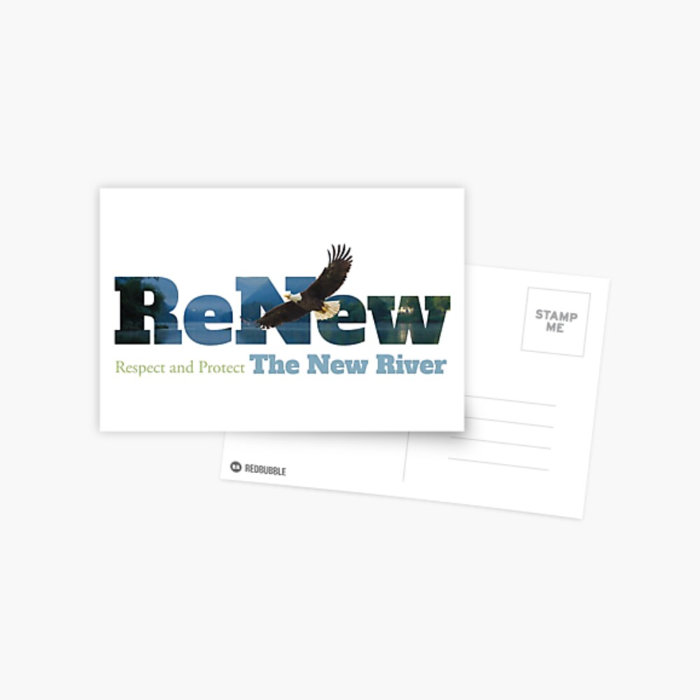 ReNew the New River Postcard
