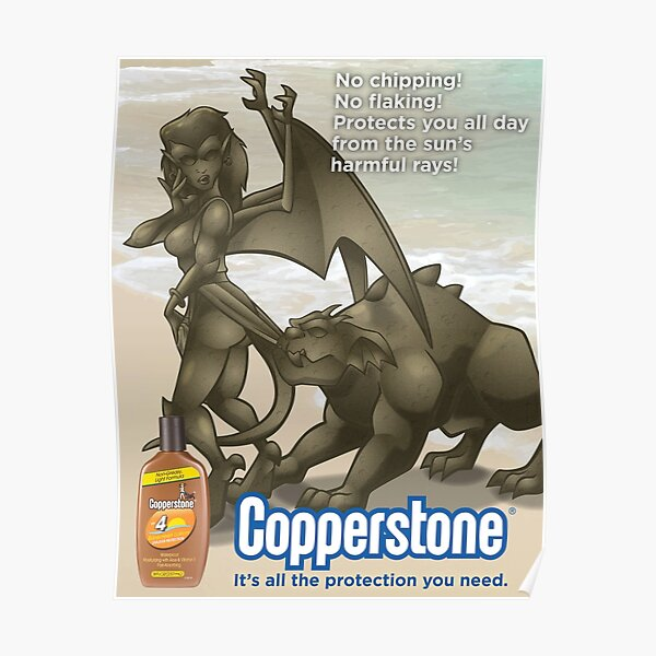 Copperstone Poster