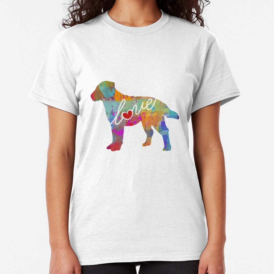 Chesapeake Bay Retriever (Chessie) Love - A Bright and Colorful Watercolor Style Gift Classic T-Shirt