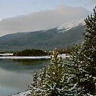 October snow in Summit County Colorado by bberwyn