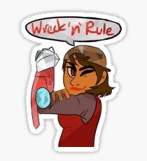 Verity - Wreck 'n' Rule Sticker