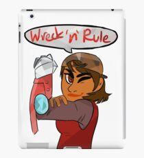 Verity - Wreck 'n' Rule iPad Case/Skin