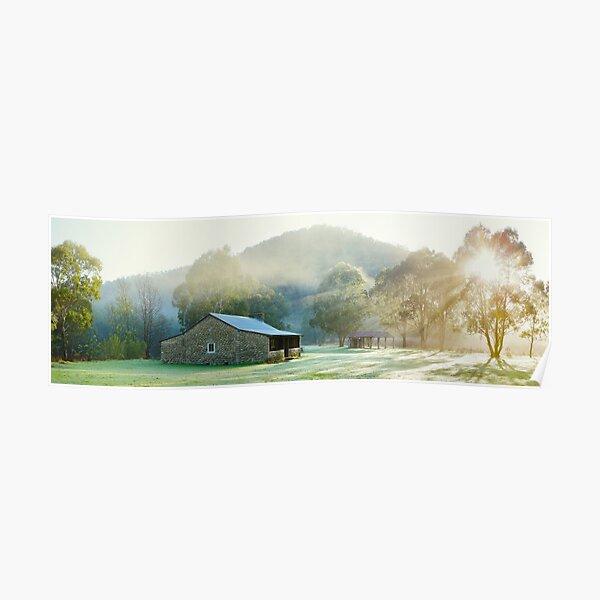 Geehi Hut, Kosciuszko National Park, New South Wales, Australia Poster
