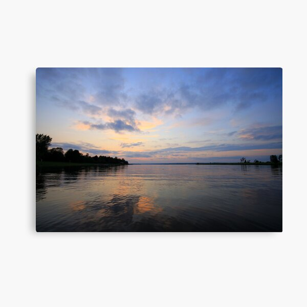 Voyageur Sunset Canvas Print