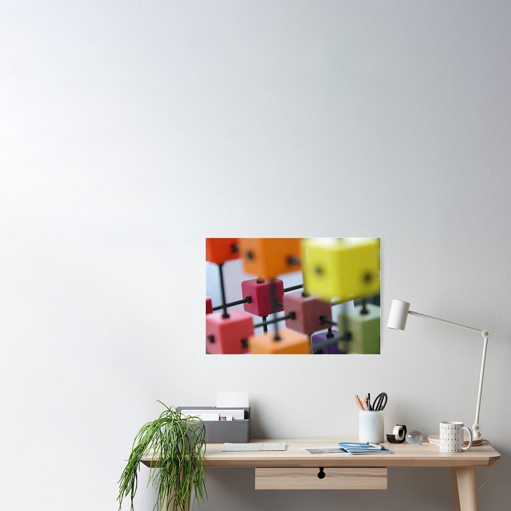 Colour Depth Poster