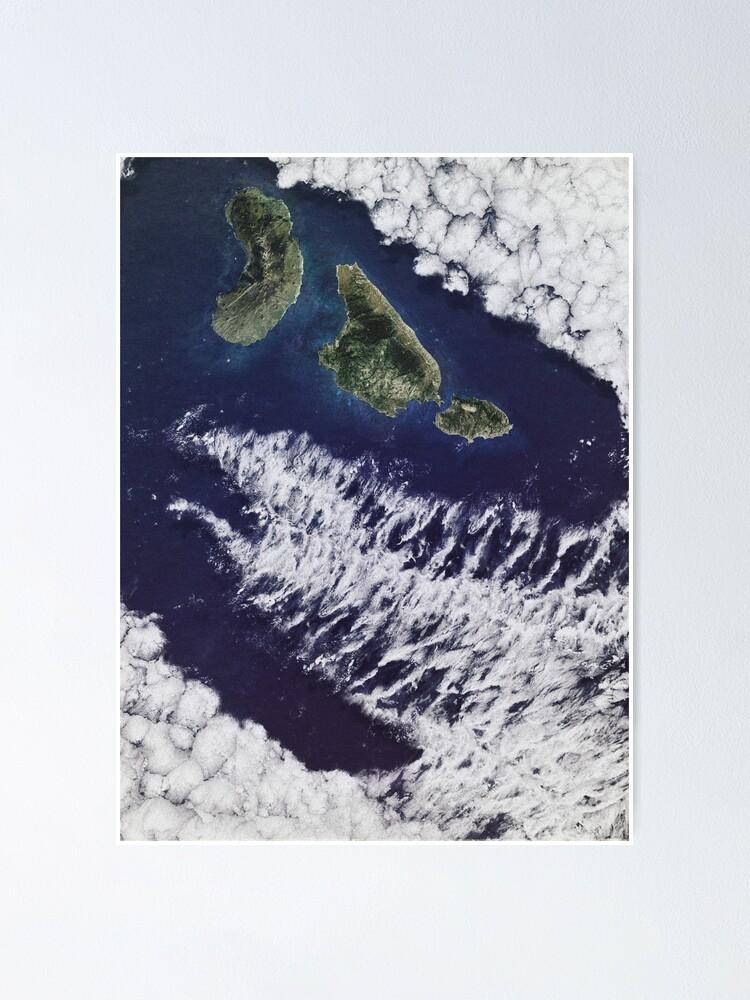 Alternate view of Jurassic Park Satellite Poster