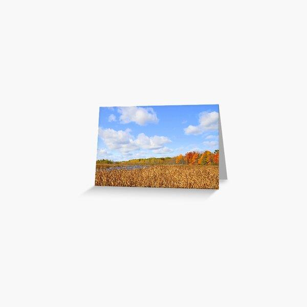 Autumn Mer Bleu Greeting Card