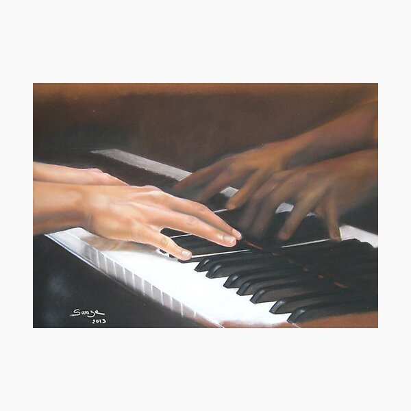 La pianiste Impression photo
