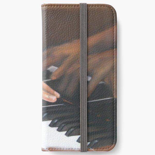 La pianiste Étui portefeuille iPhone