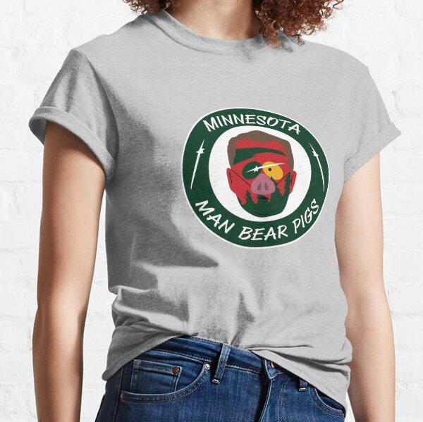 Minnesota Man Bear Pig Classic T-Shirt