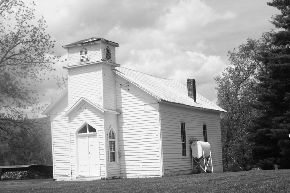 old timey church by fotoflossy