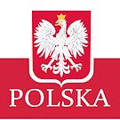 Patriotic Polish Polska Flag by PolishArt
