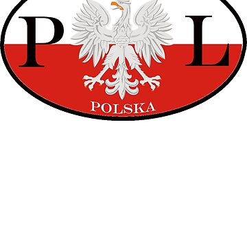 Poland Polska PL Flag by PolishArt