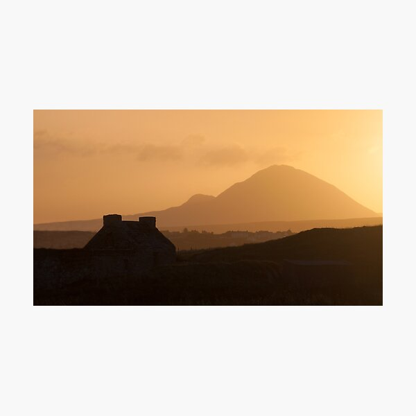Errigal, Donegal Photographic Print