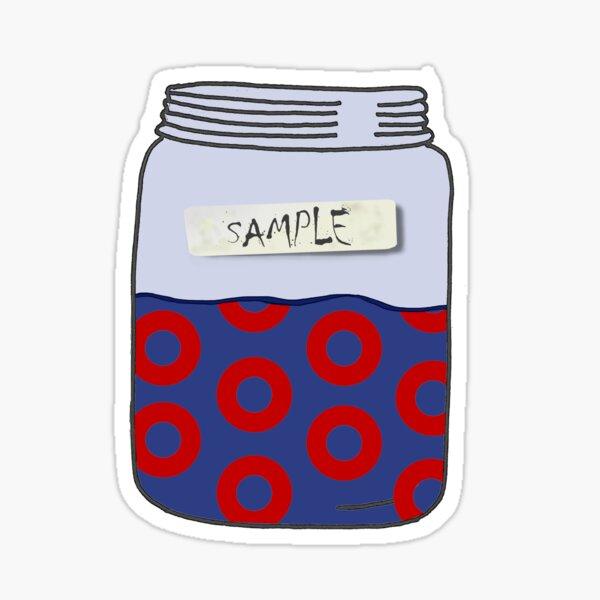 Sample in a Jar Phish Sticker