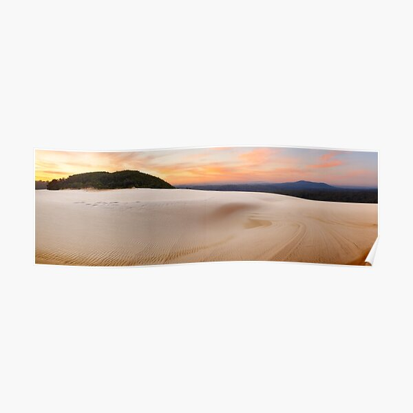 Thurra Sand Dunes, Croajingolong National Park, Victoria, Australia Poster