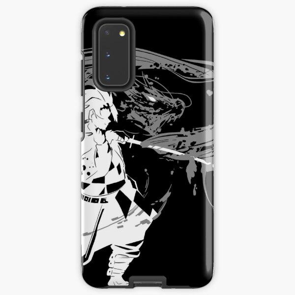 Tanjiro silhouette Samsung Galaxy Tough Case