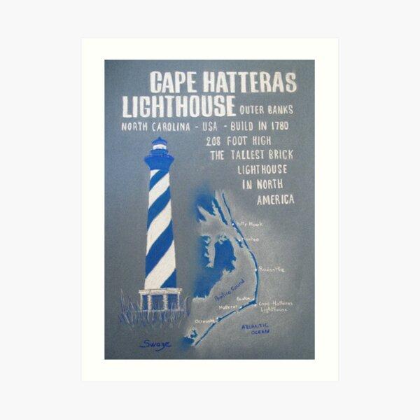 Cape Hatteras Lighthouse Impression artistique