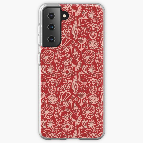 Loud flowers Samsung Galaxy Soft Case