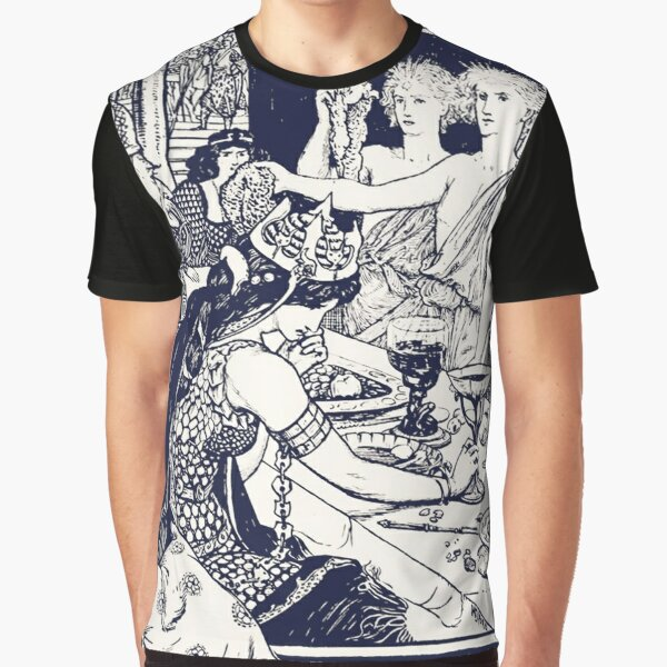 The Boys With the Golden Stars - Henry Justice Ford Vintage Print Art Nouveau Graphic T-Shirt