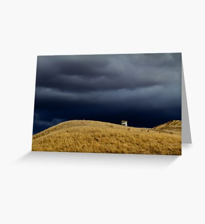 Incoming Storm Greeting Card