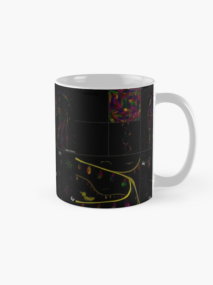 Alternate view of Subtracting Night from Rainbows, full collection Mug