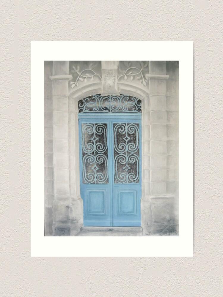 Impression artistique ''La porte du Paradis': autre vue