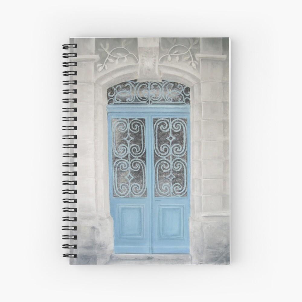 Cahier à spirale «La porte du Paradis»
