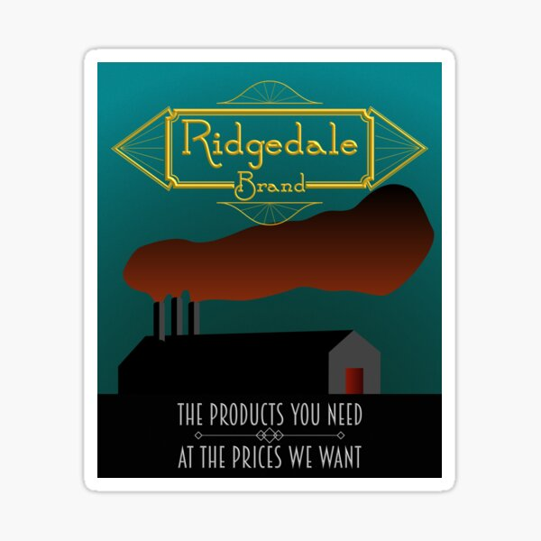 Ridgedale Brand: The Products You Need At The Prices We Want Sticker